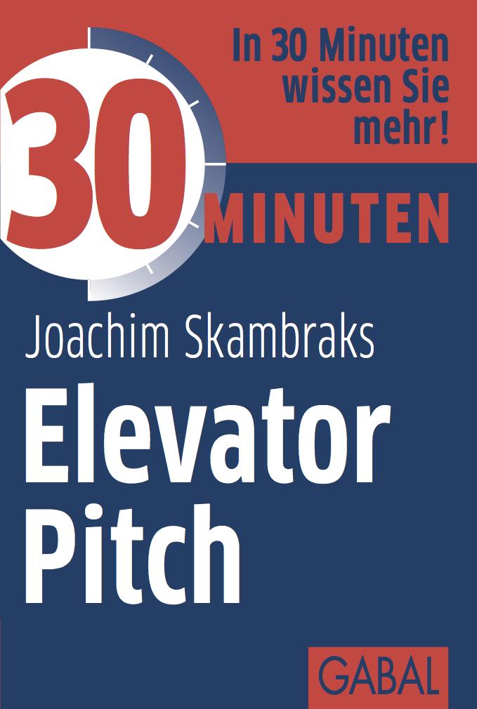Elevator Pitch Buch